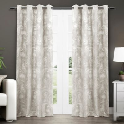 Buy Dove Grey Curtain Panel From Bed Bath Beyond