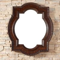James Martin Furniture Castilian 35-Inch Mirror in Aged Cognac