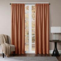 Princeton 108-Inch Rod Pocket/Back Tab Window Curtain Panel in Cinnamon