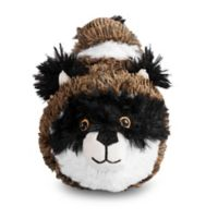 Raccoon Faball Dog Toy in Brown/Black