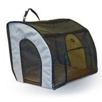 Large Travel Safety Carrier™ in Grey/Black