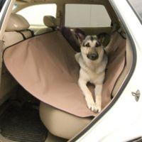 Large Car Seat Saver in Tan