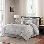 Madison Park Averly 7-Piece King Comforter Set in Grey