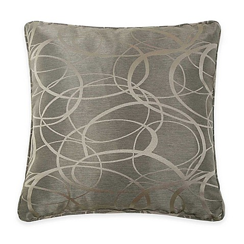 Jacquard Throw Pillows : Buy VCNY Tatiana Geometric Jacquard Throw Pillow in Brown from Bed Bath & Beyond