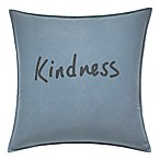 ED Ellen DeGeneres™ Kindness Throw Pillow in Chambray Blue