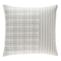 ED Ellen DeGeneres Greystone European Pillow Sham in White