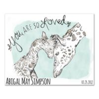 A Mother's Love Canvas Wall Art