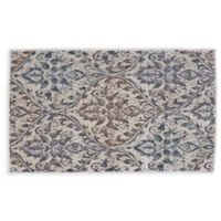 Feizy Chantal 2-Foot 2-Inch x 3-Foot 7-Inch Accent Rug in Ecru