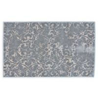 Feizy Chantal 2-Foot 2-Inch x 3-Foot 7-Inch Accent Rug in Silver/Ecru