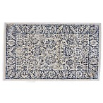 Feizy Chantal 2-Foot 2-Inch x 3-Foot 7-Inch Accent Rug in Charcoal