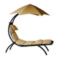 Vivere Original Dream Patio Lounger in Sand Dune