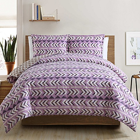 Buy clairebella navajo reversible king comforter set in for Clairebella