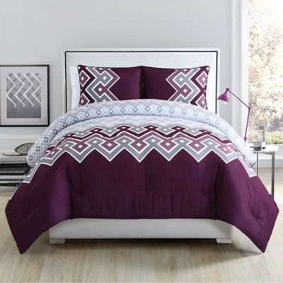 clairebella cabo comforter set in white bed bath amp beyond buy purple teal bedding from bed bath amp beyond 174
