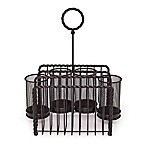 Gourmet Basics by Mikasa® Wire Rope Picnic Caddy in Black