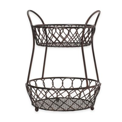Buy Tiered Baskets from Bed Bath & Beyond
