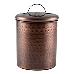Thristystone® 2 qt. Hammered Copper Finish Canister