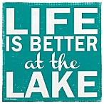 "Thristystone ""Life is Better At The Lake"" Coaster"