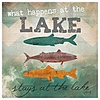 "Thirstystone ""What Happens At The Lake... "" Coaster"