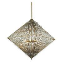 ELK Lighting Viva Natura 8-Light Chandelier in Aged Silver