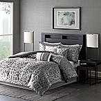 Madison Park 7-Piece Carlow Queen Comforter Set in Grey