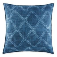 ED Ellen DeGeneres Azur Stripe European Pillow Sham in Indigo