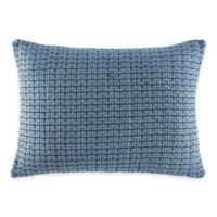 ED Ellen DeGeneres Azur Stripe Knit Breakfast Throw Pillow in Indigo