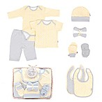 Tadpoles™ by Sleeping Partners Starburst Size 0-6M 12-Piece Layette Baby Gift Set in Yellow