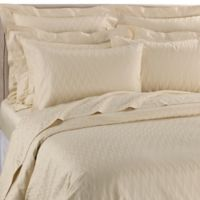 Frette At Home Porto Venere Queen Duvet Cover in Light Yellow