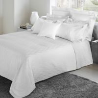 Frette At Home Porto Venere Fashion Standard Pillow Sham in White