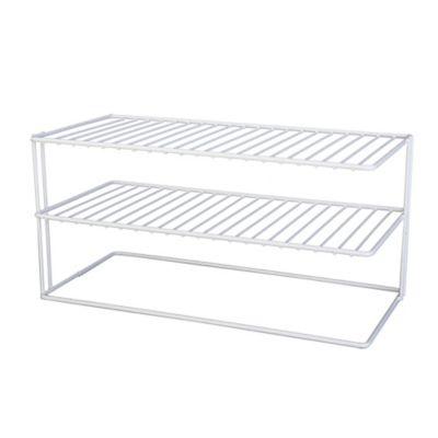 Kitchen Shelf Organizer Buy kitchen shelf organizer from bed bath beyond large 2 shelf cabinet organizer workwithnaturefo