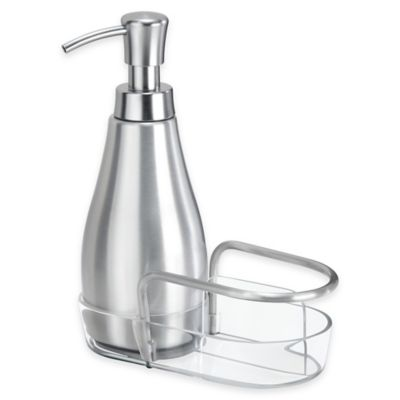 InterDesign® Metro Aluminum Soap Dispenser