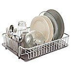 InterDesign® Metro Rustproof Aluminum Dishrack and Drainboard
