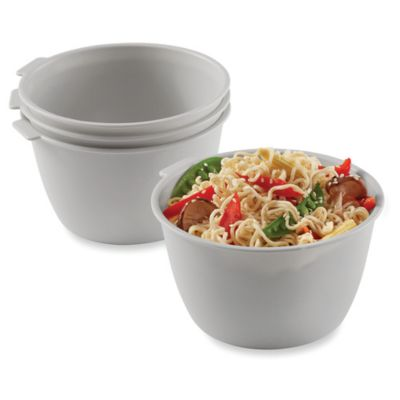 Stackable Microwave Bowls Set Of 4