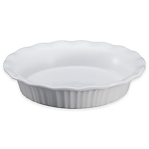 Corningware 174 French White 9 Quot Pie Plate Bed Bath Amp Beyond