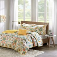 Intelligent Design Nina Full/Queen Coverlet Set