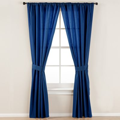 Buy Navy Blue Curtain Tie Backs From Bed Bath Amp Beyond