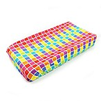 One Grace Place Terrific Tie Dye Squares Changing Pad Cover