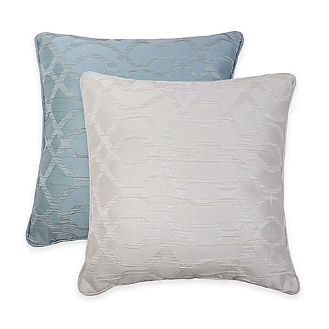 VCNY Lexington Crinkle Jacquard Throw Pillow - Bed Bath & Beyond