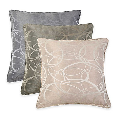 Jacquard Throw Pillows : VCNY Tatiana Geometric Jacquard Throw Pillow - Bed Bath & Beyond