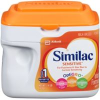 Similac Sensitive® 1.41 lb. Infant Formula Powder