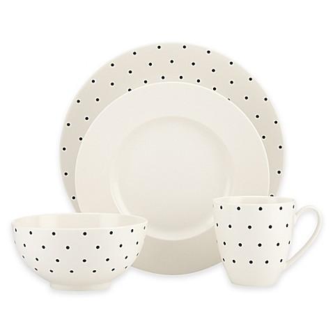 Kate Spade New York Larabee Dot Cream Dinnerware