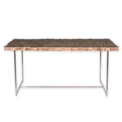 ZuoR Collage Dining Table In Natural