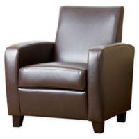 Abbyson Living® Mercer Club Chair in Brown