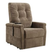 Pulaski Montreal Power Lift Chair in Brown