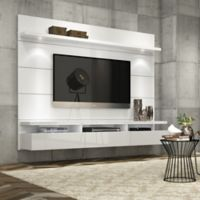 Manhattan Comfort Cabrini Theater Floating Entertainment Center in White