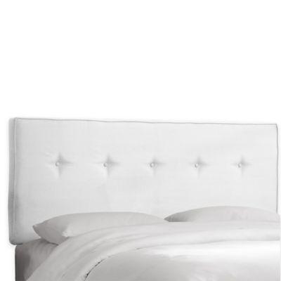 skyline furniture ashland queen headboard in premier white