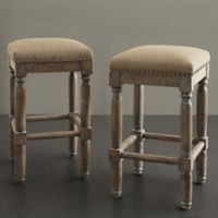 Madison Park Cirque Stools in Sand (Set of 2)