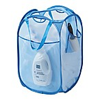Pop-Up Mesh Laundry Hamper in Blue