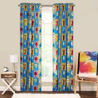 Crayola® Monster Friends 84-Inch Window Curtain Panel in Blue/Green