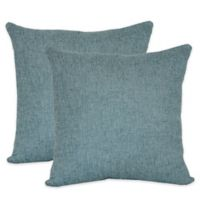 Jasper Throw Pillows in Mineral (Set of 2)